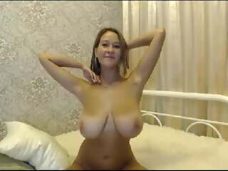 Horny MUM with Saggy TITS