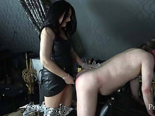I will Make You Cry - Hard Caning & Pegging by Domina Jemma