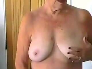 71 year old Gilf says Keep calm and have a wank