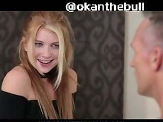 Blonde Teen girl sex with Step Dad