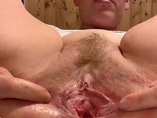 Jerk off instructions with dirty holes