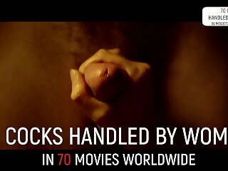 70 str8 handjob scenes in movies... worldwide! (exclusive compil)