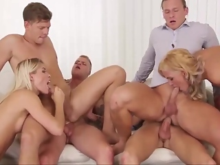 Swinging orgy - Homemade