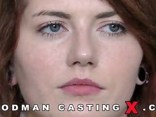 Great casting with a sexy redhead slut