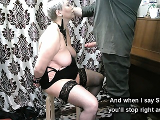 Mature Slave Training...