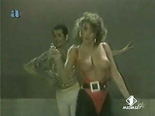 Sabrina Salerno - Dancing Topless