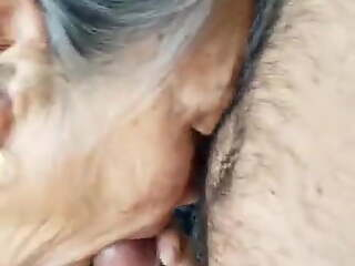 Rare Mexican Cutie Gran well and slowly fucked