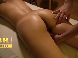 Teen Oil Massage And Incredible Female Orgasm By Letty Black  4K