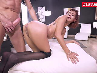 LETSDOEIT Huge Cock Anal Makes Her To Squirt - Veronica Leal