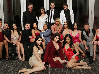 Brazzers Valentine's Day Affair was shot and broadcasted LIVE on February 14th, 2020. The once in a lifetime event delivered glamour, fantasy and the industry's top talent giving it their all in an unforgettable orgy. Missed the party? Not to worry, watch the hottest highlights from the big night right now!