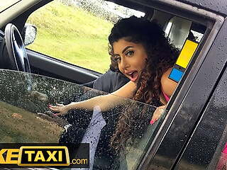 Fake Taxi - Asian Marina Maya gets a taste of a Big Black Cock