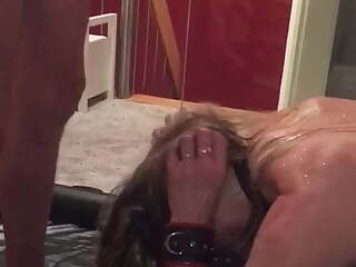 Piss and blow job with an user
