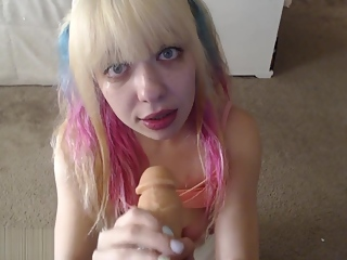 Betsy Blue,Dumb Blonde,Suck Dick