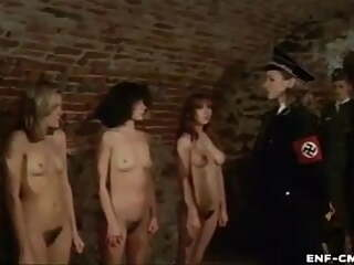 naked women in a concentration camp