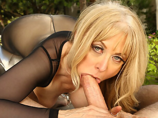 Back by popular demand - Nina Hartley is gracing your VR screen for another shot at getting you off. VRHush has pulled out this video and remastered it,