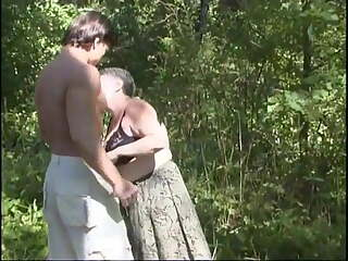 Mature lady with  Boy 03