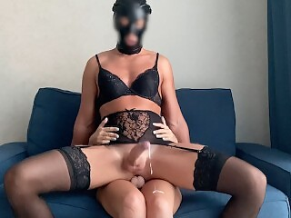 Mistress made him her whore and fucked his slutty ass