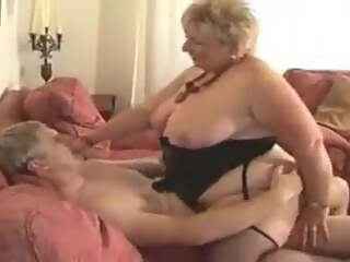 BBW UK granny fucks