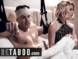 PURE TABOO StepMom Helped Injured Son Pleasure Himself