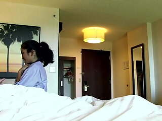 Young Tight Hotel Maid Cleaning Lady
