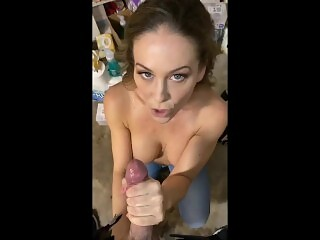 MOM teacher teaches younger student with big cock a lesson