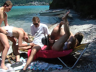 public family therapy beach orgy