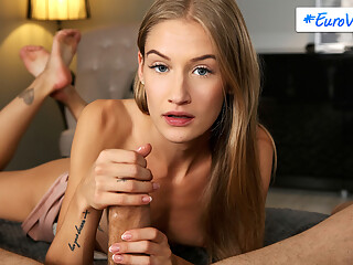 Sylvia Laruen is sleeping peacefully as her husband Steve seems to be masturbating beside her. What Sylvia doesn't know is that Tiffany Tatum sucked her stepdad's...