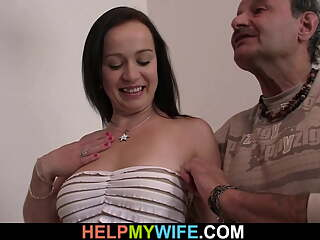 Please fuck my young wife while i watch