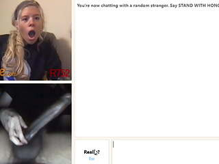 Omegle big cock reactions Vol.2