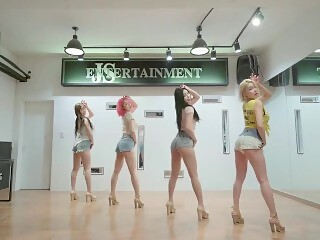 KPOP PINK LABEL & GROUP SEX