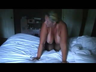 big boobed blonde milf gets full vacation fuck