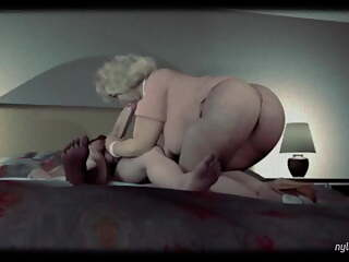 Second Best Granny 3D Cartoon Ever, Hard Pounding