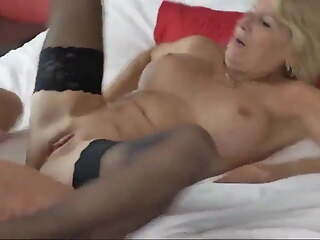 Hot Mature with Boy on Vacation