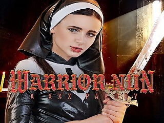 Petite Warrior Nun Is Begging For Your Dick