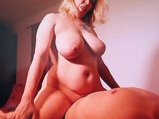 busty blonde milf with tattoo get fucked