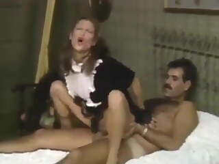 Teen Slut Maid Riding In front of Wife Movie Scene