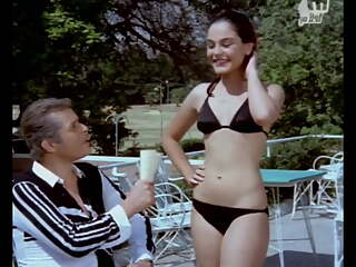 Sherihan - Sexy Arab Egyptian Actress in black bikini