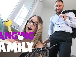 Banging Family - Fucking my Petite Step-Daughter for the First Time