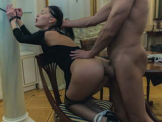 XDOMINANT 025 - TEEN SLAVEGIRL FUCKED IN HER ASS HARD