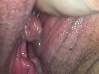I just got fucked! Clean up my pussy