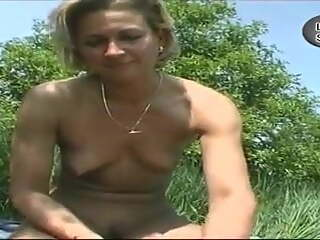 Mature Hitchhiker With Tiny Tits