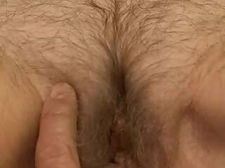 Hairy 60 year old granny with a lot of grey pussyhair
