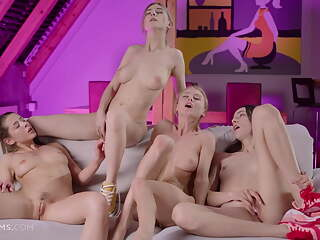 Foursome of Goddesses