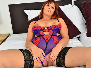 Look at the tits on Beau Diamonds as she wears some incredible lingerie! This Euro housewife is always down to fuck, so get ready for a real sexy ride as she grabs...