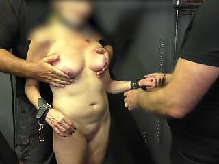 slave cunt inspected by new Dom 1 - CMNF