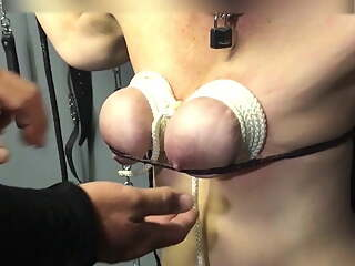 slave cunt inspected by new Dom 2 - CMNF