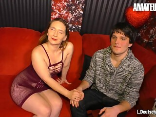 AmateurEuro - Slutty German Stripper Shows Young Stud How To Fuck