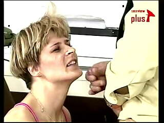Dutch milf Shannon plays a street whore