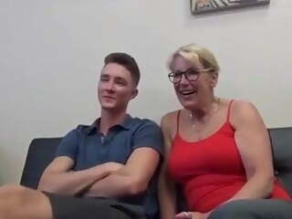 Mom and Son Watch Porn Together