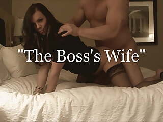 Mrs James - The Boss's Slut Wife